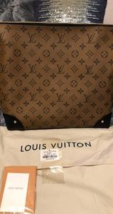Louis Vuitton Reverse Monogram Triangle Softy